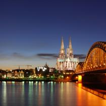 Paesaggio della città di Colonia