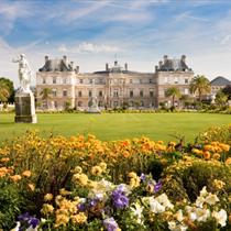 Palazzo con i fiori a Lussemburgo