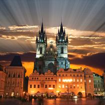 Palazzo della torre vecchia a Praga