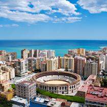 Malaga e l'arena