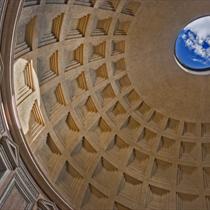 Dettaglio del Pantheon di Roma