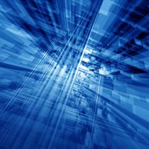 Cyberspazio blu