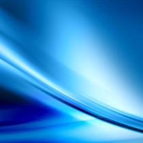 Composizione astratta blu