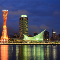 Panorama grattacieli a Tokyo