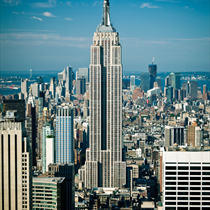 Empire State building a New York