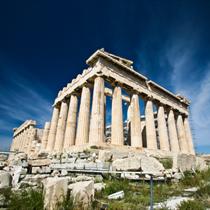 Acropoli vista dal basso