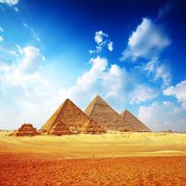 Veduta delle piramidi