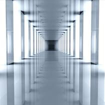 Corridoio con giochi di luce