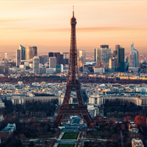 Parigi e la tour eiffel