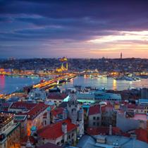 Panorama di Istambul
