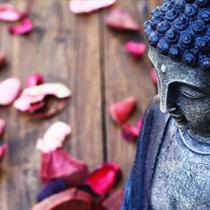Dettaglio di un buddha