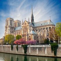 Vista del Notre dame di Parigi