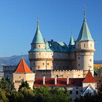 Bojnice Castle in Slovacchia
