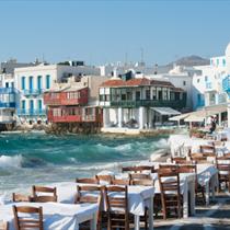 Paesaggio di Mykonos