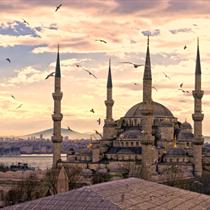 Vista della Moschea Blu