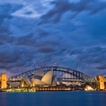 Sydney Harbour Bridge e il teatro dell'opera
