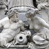 Fontana di Pallade Atena a Vienna