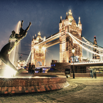 Londra, scorcio Tower bridge