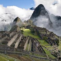 Veduta di Machu Pichu