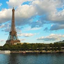Vista dalla Senna della Tour Eiffel