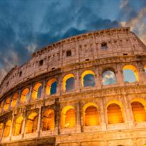 Colosseo illuminato