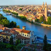 Verona vista dall'alto