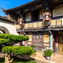Tempio antico cinese