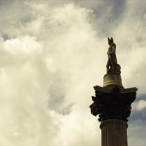 La colonna di Nelson a Trafalgar Square