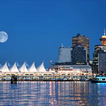 Vancouver di notte