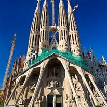 Fronte della Sagrada Familia