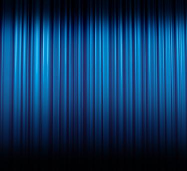 Astratto a righe blu