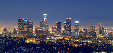 Skyline di Los Angeles