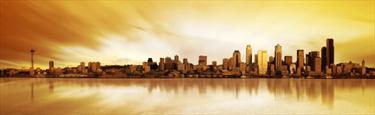 Skyline di Seattle