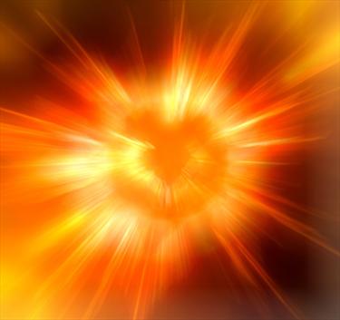 Esplosione di tonalità arancio