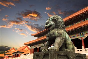 Statua e tempio a Pechino
