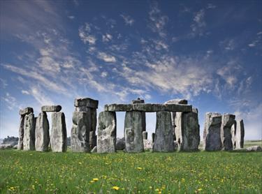 Primo piano di Stonehenge