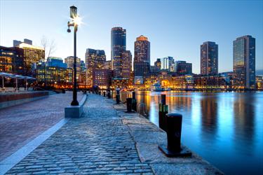 Vista di Boston