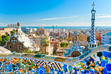 Park Guell a Barcelona