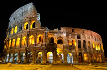 Colosseo vista notturna