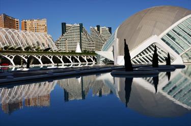 La Città delle Arti e delle Scienze di Valencia