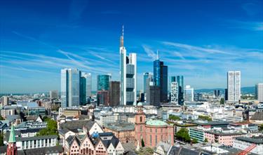 Panoramica di Francoforte