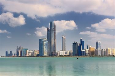 Skyline di Abu Dhabi