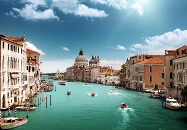 Il Canal Grande e la Basilica Santa Maria della Salute