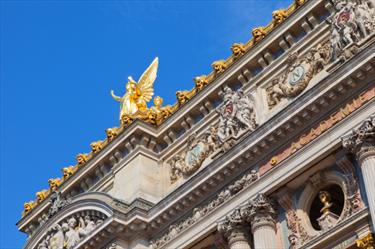 Architettura dorata a Parigi