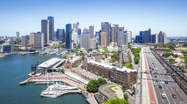 Panorama della città di Sydney