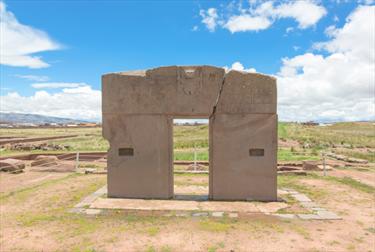 Porta del sole in Bolivia