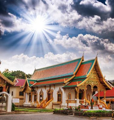 Tempio thailandese