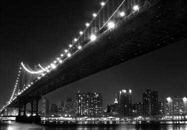 Skyline di Manhattan e il ponte