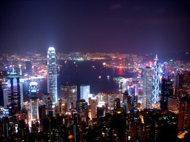 Hong Kong notturna