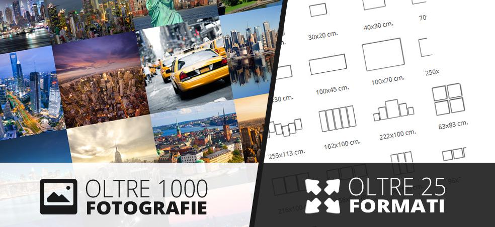 Oltre 1000 Foto, oltre 25 formati